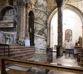 San Leone Basilica, Assoro - Italy — Stock Photo