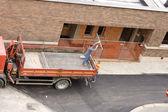 Lavoratori sul camion — Foto Stock