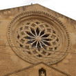 Stock Photo: Rose window of church, Trapani