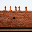 Stock Photo: Chimneys