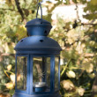 Blue lantern — Stock Photo