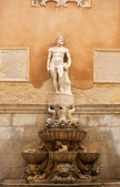 View of Fountain of Saturn, Trapani — Stock Photo