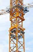 Crane on blue sky — Stock Photo