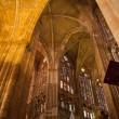 Interior of Leon Cathedral — Stock Photo