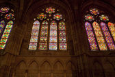 Windows, catedral de leon — Foto de Stock