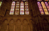Windows of Leon Cathedral — Stock Photo