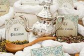 Medicinal teas — Stock Photo