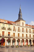 Plaza Mayor, Leon — Stock Photo