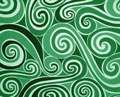 Green spiral — Stock Photo