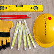 Carpenter equipment — Stock Photo
