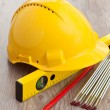 Carpenter equipment — Stock Photo #6864787