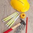 Stock Photo: Carpenter equipment