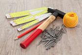 Carpenter equipment — Stock Photo