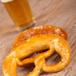 German pretzel - Stock Photo