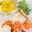 Prawn tails — Stock Photo