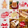 Christmas collage — Stock Photo #7400901