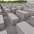 Stock Photo: Holocaust Mahnmal in Berlin