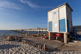 Baltic sea beach — Stock Photo