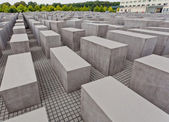 Holocaust Mahnmal in Berlin — Stockfoto