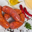 Raw italian sausage — Stock Photo #7433971