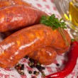 Raw italian sausage — Stock Photo #7434172