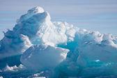 Geleira da Antártica — Fotografia Stock