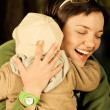 A mother and child — Stock Photo