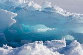 Ghiacciaio antartico — Foto Stock