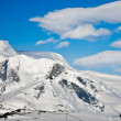 splendide montagne innevate — Foto Stock