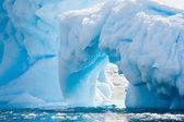 антарктического ледника — Стоковое фото