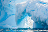 Antarktika buzul — Stok fotoğraf
