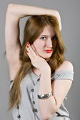 Krásná dívka — Stock fotografie