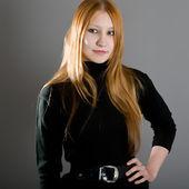 Portrait of the beautiful girl — Stock Photo