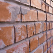 Bricklaying fragment — Stock Photo