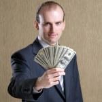 Portret of businessman — Stock Photo