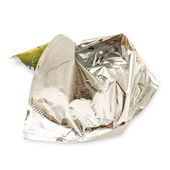 Crumpled wrapper — Stock Photo
