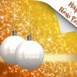 Christmas balls background - Photo