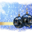 Christmas balls background - Foto de Stock