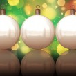 Christmas balls background — Stock Photo #7379175