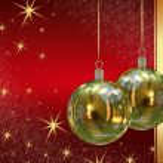 Christmas balls background — Stock Photo #7379531