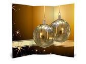 Illustration of Isolated Christmas brochure — Stock Photo