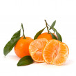 Ripe tasty tangerines - Stock Photo