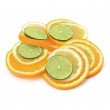 Citrus fruit slices - Stock Photo