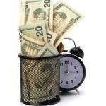 Waste of money concept — Stock Photo #7014587