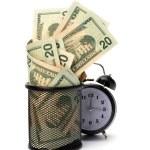 Waste of money concept — Stock Photo #7014766