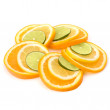 Citrus fruit slices — Stock Photo
