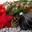 Christmas border. - Foto de Stock