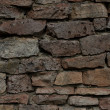 Stone shielding wall background — Stock Photo