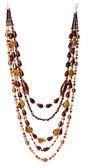 Collar de perlas colores — Foto de Stock