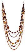 Colorful beads necklace — Foto de Stock